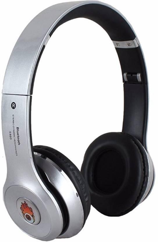 647fa5eac54 Acid Eye Silver Bluetooth headphone S-460 Smart Headphones Price in ...