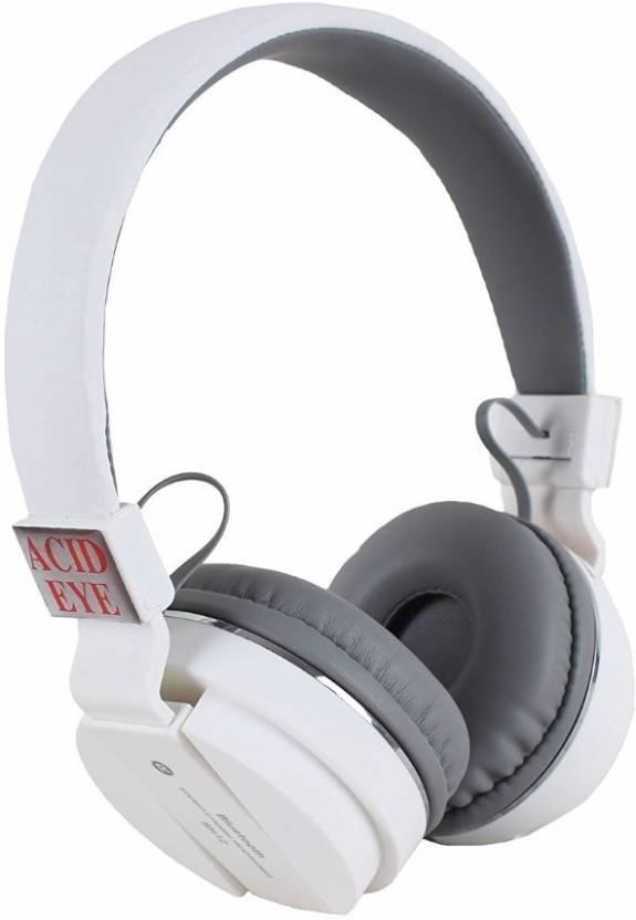 1aea7ef9713 Acid Eye SH-12 White headphone Smart Headphones Price in India - Buy ...