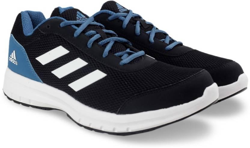 adidas galactus m per gli uomini comprano scarpe da corsa cblack / ftwwht