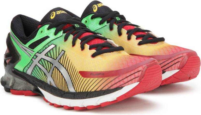Asics GEL-KINSEI 6 Running Shoe For Men - Buy TRUE RED SILVER BLACK ... bf78a2522c2