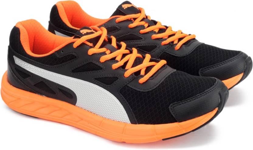 b122a200c73ecf Puma Driver 2 Running Shoes For Men - Buy Puma Black-Shocking Orange ...