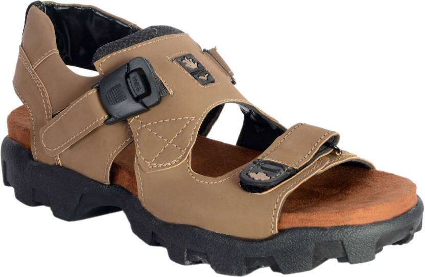Aarav Shoe Men Camel Sandals