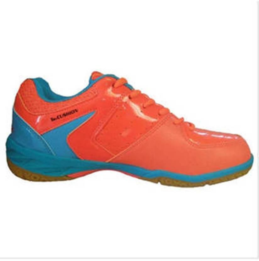 d1ca5e1a456 Yonex BADMINTON SHOES SRCR 40 LD JR ORANGE BLUE Badminton Shoes For Men  (Multicolor)