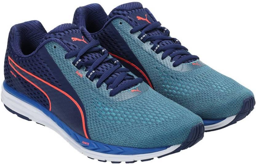 b09a1dd69cc43f Puma Speed 500 IGNITE 2 Walking Shoes For Men - Buy Blue Depths-Nrgy ...