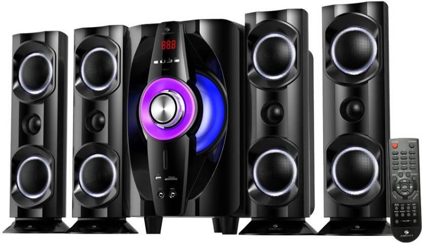 Buy Zebronics Zebronics Tornado 4 Bt Rucf Bluetooth Home Audio