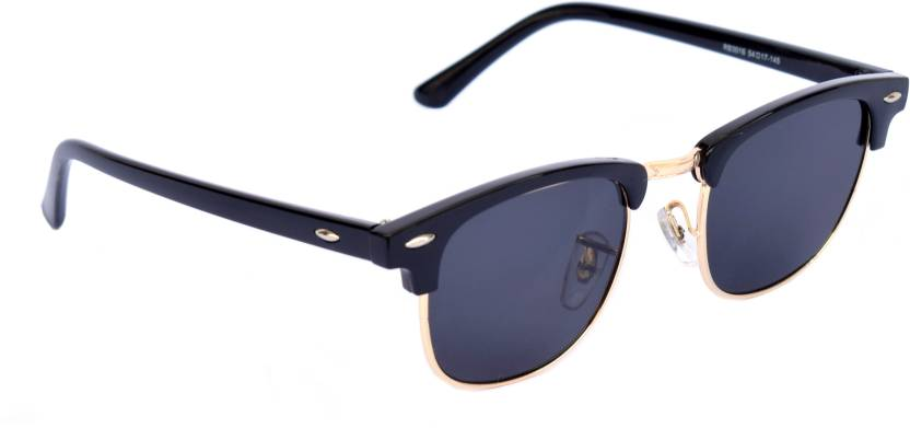 71c5dfb0aa Buy Dio Moda Clubmaster Sunglasses Black For Men   Women Online ...