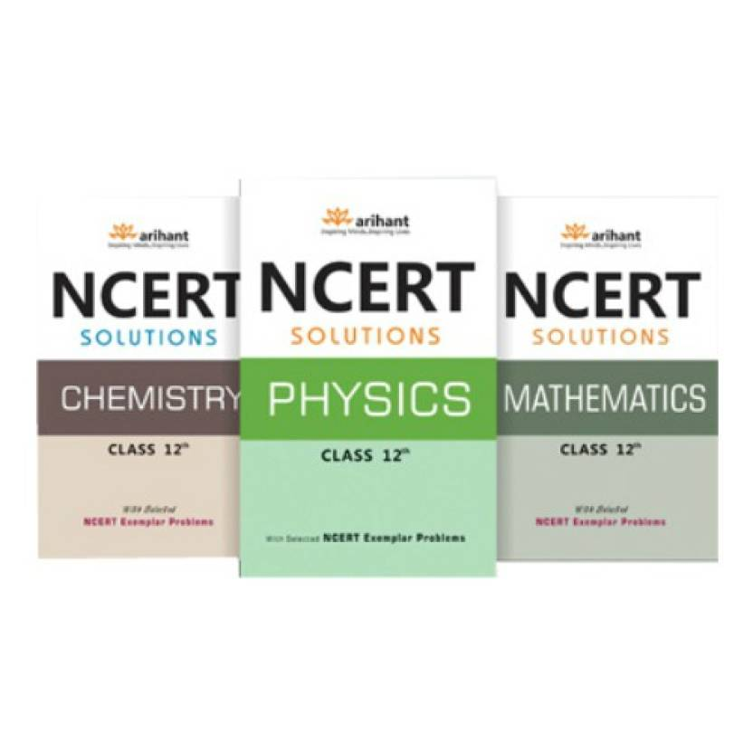 NCERT Solutions Physics, Chemistry, Mathematics Class XII