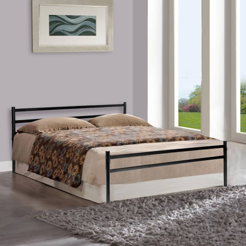 Furniturekraft palermo metal queen bed price in india for G plan bedroom furniture uk