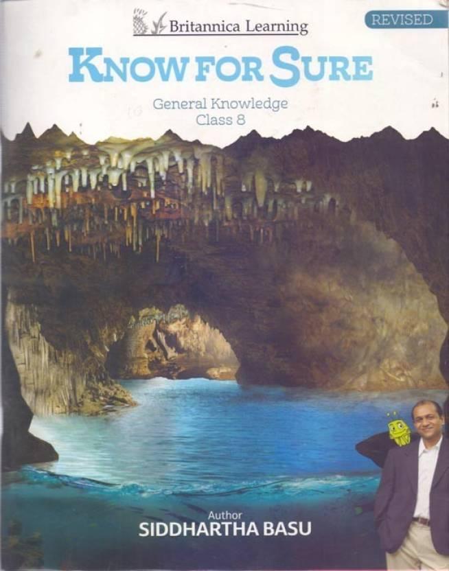 Know For Sure Class 8: Buy Know For Sure Class 8 by Siddhartha Basu
