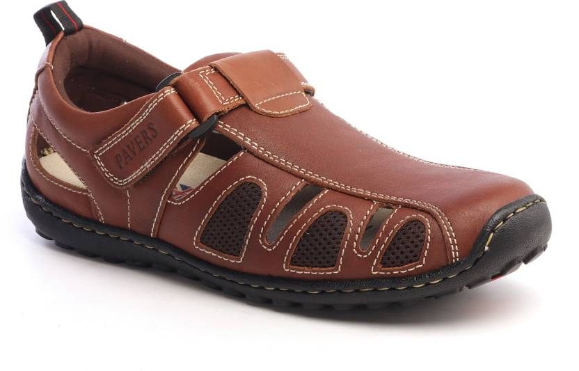 2ed5537c6f1b Pavers England Men BROWN Sandals - Buy Pavers England Men BROWN Sandals  Online at Best Price - Shop Online for Footwears in India