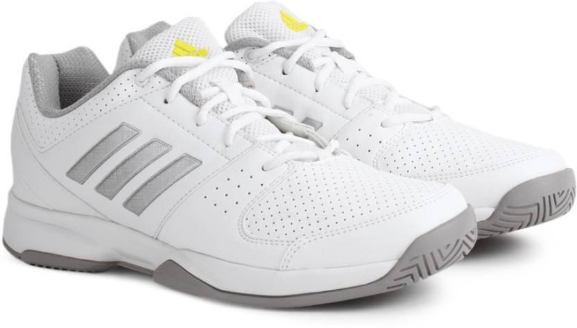 adidas aenon scarpe da tennis per gli uomini comprano bianco / silvmt / shosli colore