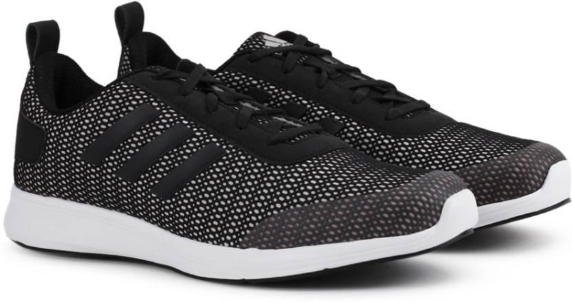 adidas adispree m per gli uomini comprano scarpe da corsa silvmt / cblack