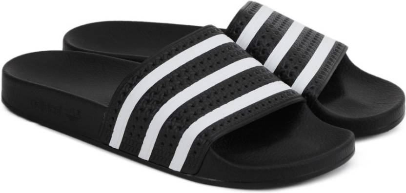 new style 7e3a5 a8fed ADIDAS ORIGINALS ADILETTE Slides - Buy BLACK1WHTBLACK1 Color ADIDAS  ORIGINALS ADILETTE Slides Online at Best Price - Shop Online for Footwears  in India ...