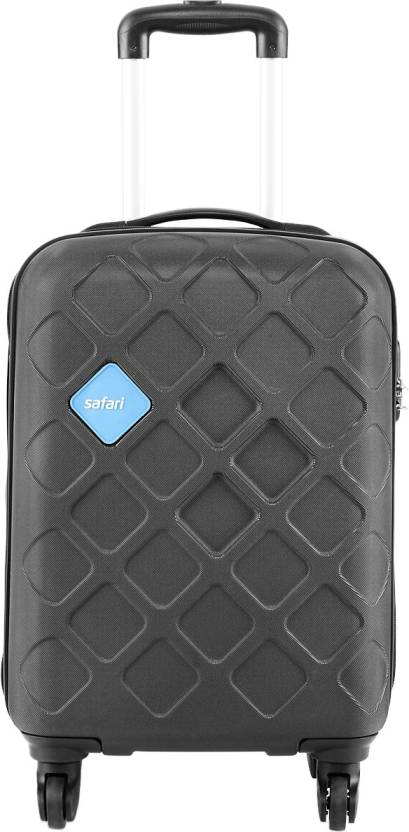Safari Mosaic Cabin Luggage - 22 inch  (Black)