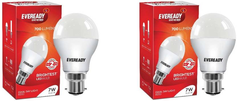 Eveready 7 W B22 LED Bulb