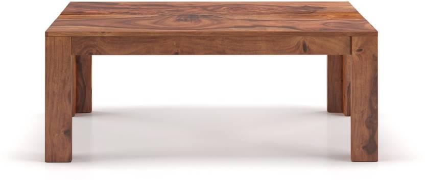 Urban Ladder Sheesham Wood Solid Wood Coffee Table Finish Color   Teak