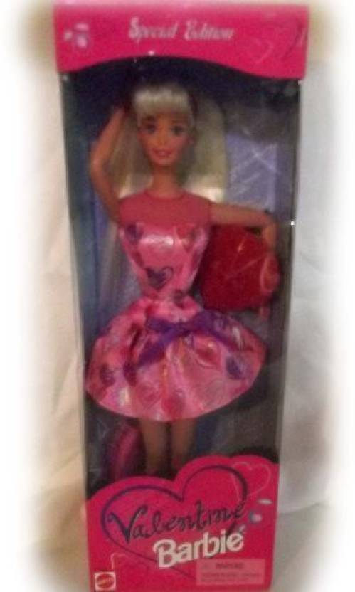 Valentine barbie doll