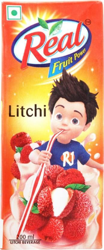 Real Fruit Juice Litchi 200 ml
