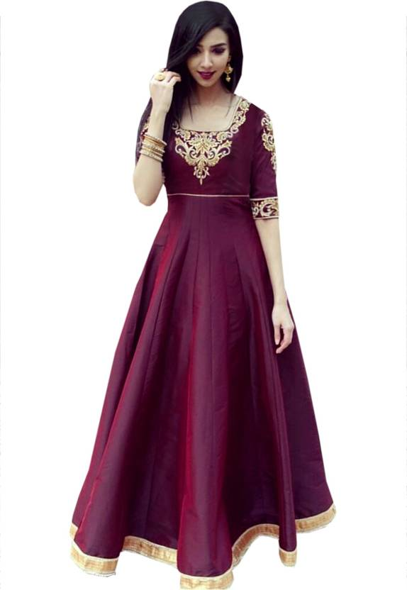 Greenvilla Designs Anarkali Gown Price in India - Buy Greenvilla ...