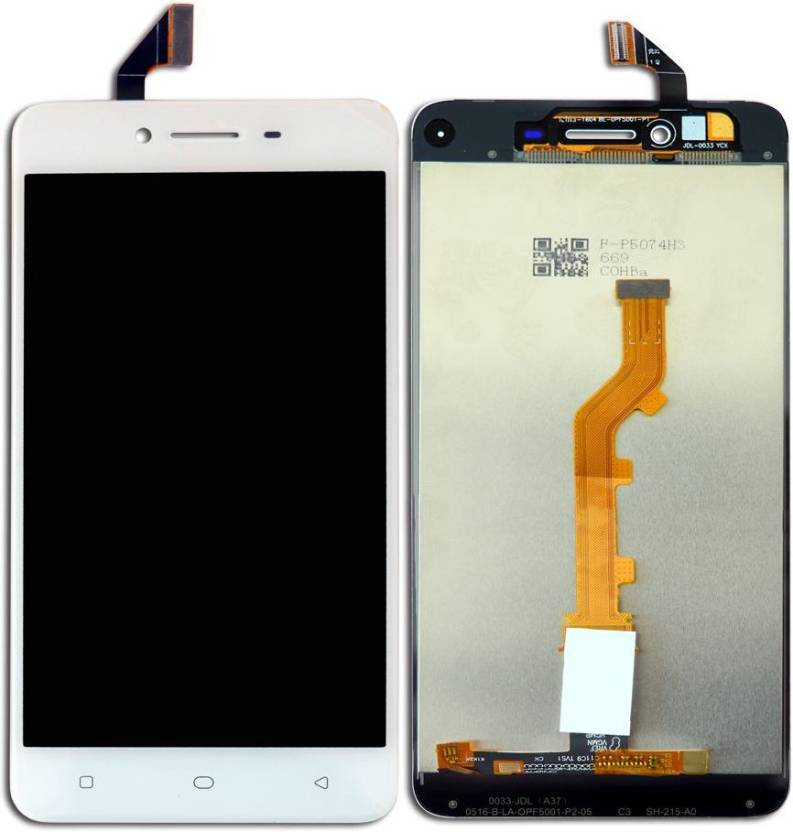 Rdg display for oppo a37 white complete folder lcd price in india rdg display for oppo a37 white complete folder lcd stopboris Images