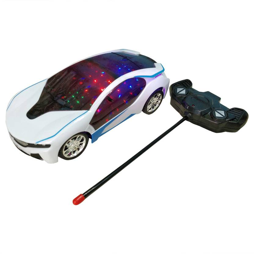 Wishkart Bmw I8 Electric Chargeable 3d Lightning Remote Control