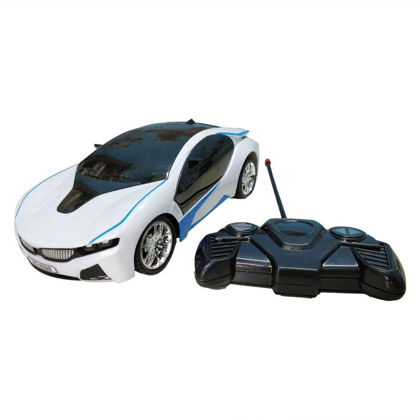 Bonkerz Bmw I8 Electric Chargeable 3d Lightning Remote Control