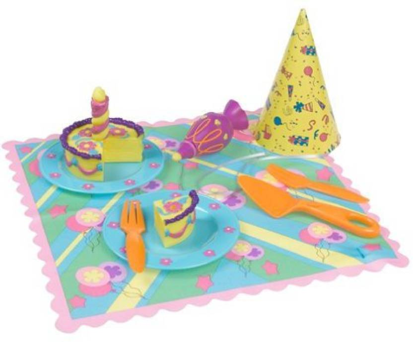 Fisher Price Dora The Explorer Birthday Cake Play Food Set Works With Talking Kitchen