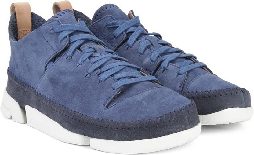 Clarks Trigenic Flex Night Blue Sneakers For Men Buy Blue