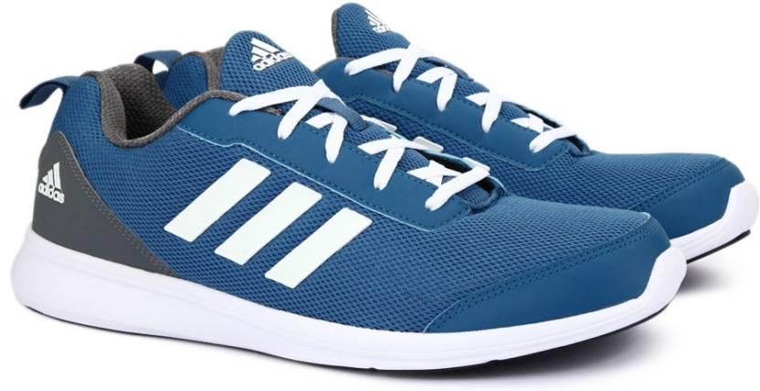 ADIDAS YKING 1.0 M Running Shoes For Men - Buy MYSBLU SILVMT SYELLO ... 18a9f1e9d