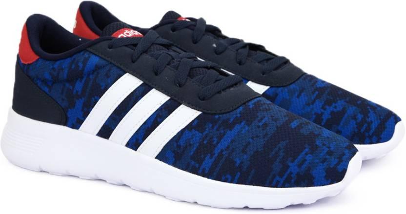 Adidas neo lite racer scarpe per gli uomini comprano conavy / ftwwht / blu