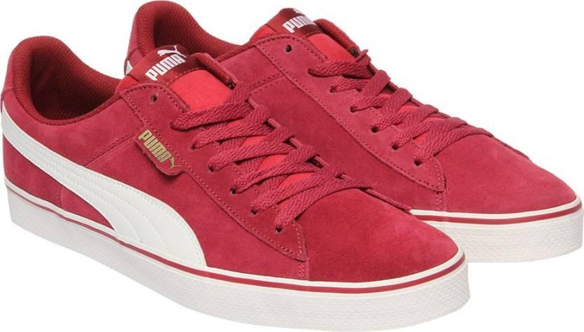 c96174a9e7eb5d Puma 1948 Vulc Sneakers For Men - Buy Tibetan Red-Puma White Color ...