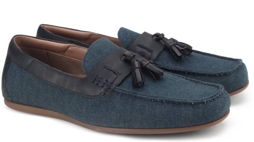 7c57fb9c09 ALDO MALANDRE Loafers For Men - Buy Navy Color ALDO MALANDRE Loafers ...
