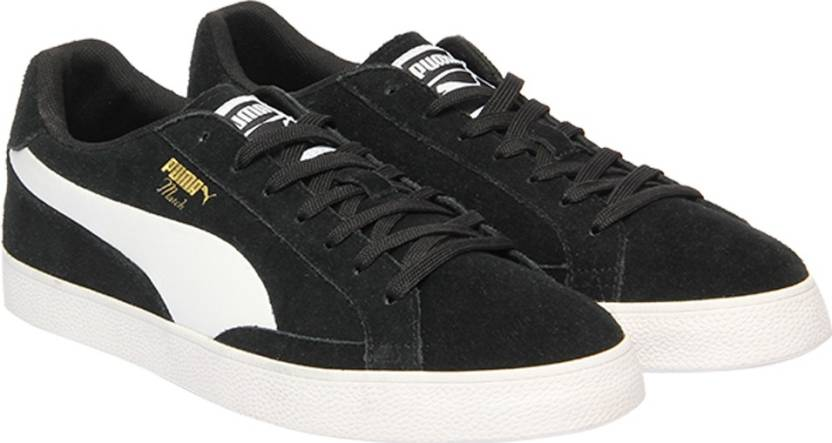 de4bb3a495fda2 Puma Match Vulc 2 Sneakers For Men - Buy Puma Black-Puma White Color ...