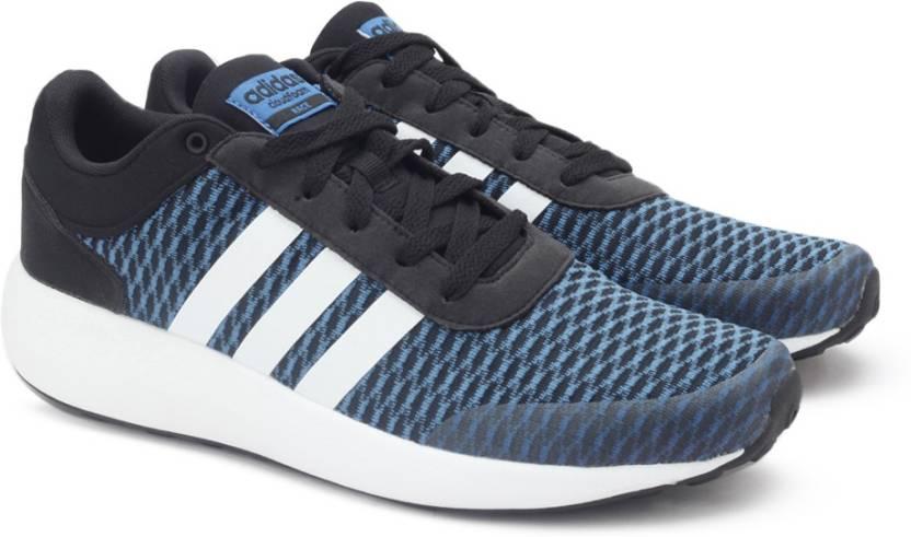 adidas neo di gara per gli uomini comprano scarpe cblack / ftwwht / colore blu