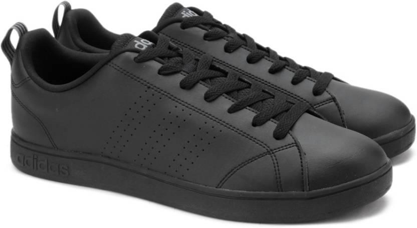 adidas neo vs vantaggio cl scarpe da tennis per gli uomini comprano cblack / cblack