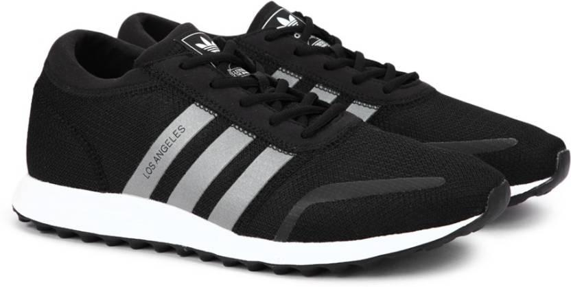 save off 7832f 79c7c ADIDAS ORIGINALS LOS ANGELES Sneakers For Men (Black)