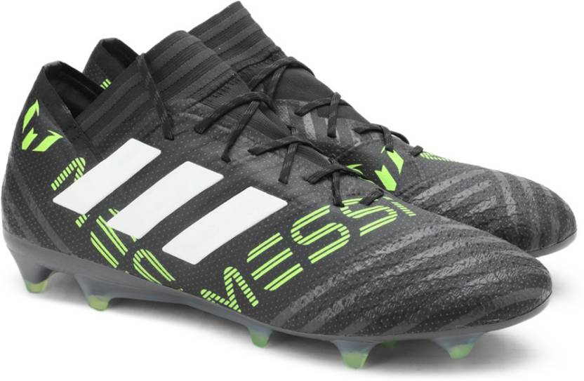 new styles e9ade 987ac ADIDAS NEMEZIZ MESSI 17.1 FG Football Shoes For Men (Black)