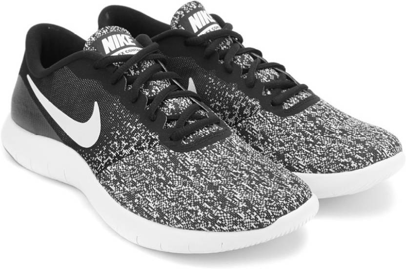 9c85bfdb80572 Nike FLEX CONTACT Sneakers For Men - Buy BLACK WHITE NOIR BLANC ...