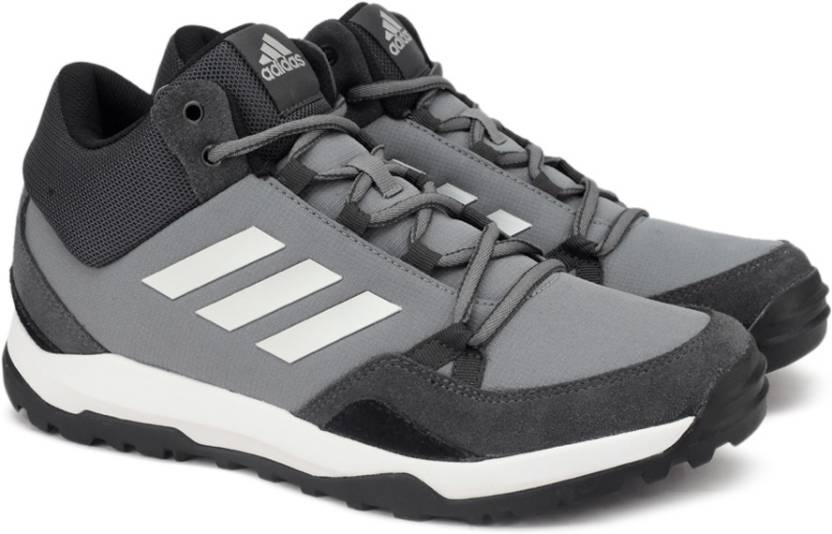 adidas hampta outdoor scarpe per gli uomini comprano dkgrey / silvmt / visgre / cbla