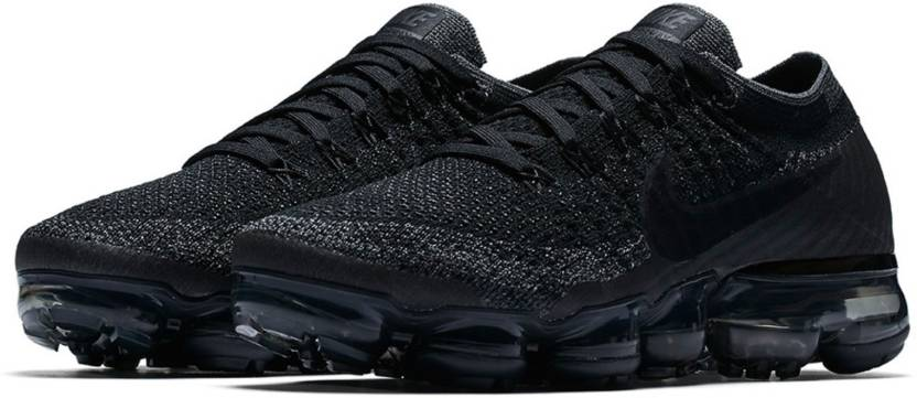 purchase cheap b9910 cd76e Ad Neo Men's VaporMax Flyknit Triple Black Running Shoes For Men