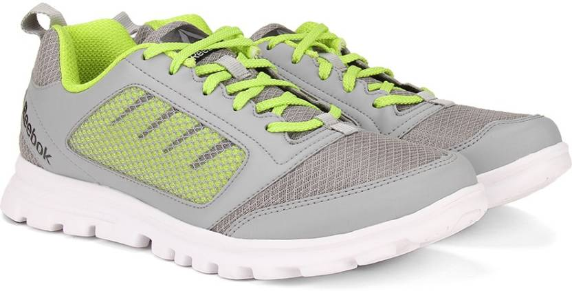 2260303e94f9 REEBOK RUN STORMER Running Shoes For Men - Buy FLAT GREY YELLOW ...