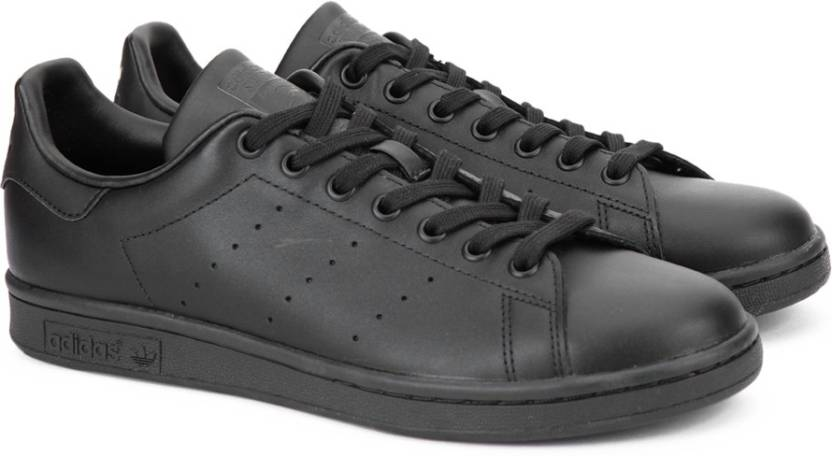 adidas originali stan smith scarpe da ginnastica per gli uomini comprano black1 / black1