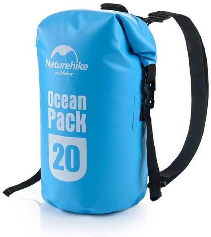 7b594bf4c3ce Italish 20L Outdoor Ocean Pack Waterproof Dry Bag Sack Storage Bag 20 Liter  Ocean Pack (Blue