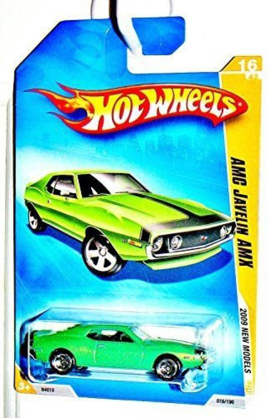 Mattel Hot Wheels 2009 NEW Models AMC Javelin AMX - Hot Wheels 2009