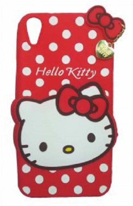 mhub Back Cover for OPPO A37f, Oppo A37 (hello kitty back cover,red, Rubber)