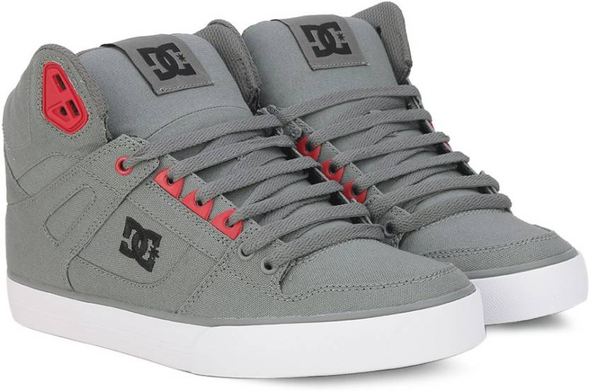 d11ff9a0997b DC SPARTAN HIGH WC Sneakers For Men - Buy GREY Color DC SPARTAN HIGH ...