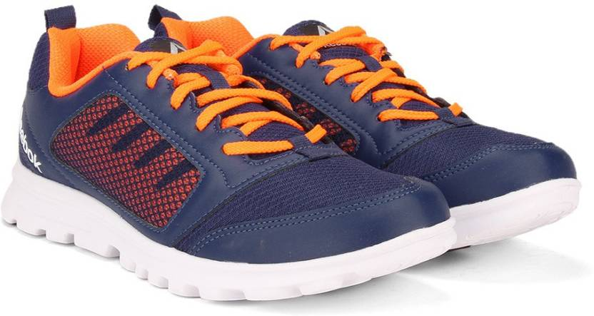402f1a56b0b REEBOK RUN STORMER Running Shoes For Men - Buy CLUB BLUE WILD ORANGE ...