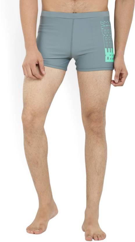 622f781f327 REEBOK Solid Men's Grey Swim Shorts - Buy Grey REEBOK Solid Men's Grey Swim  Shorts Online at Best Prices in India | Flipkart.com
