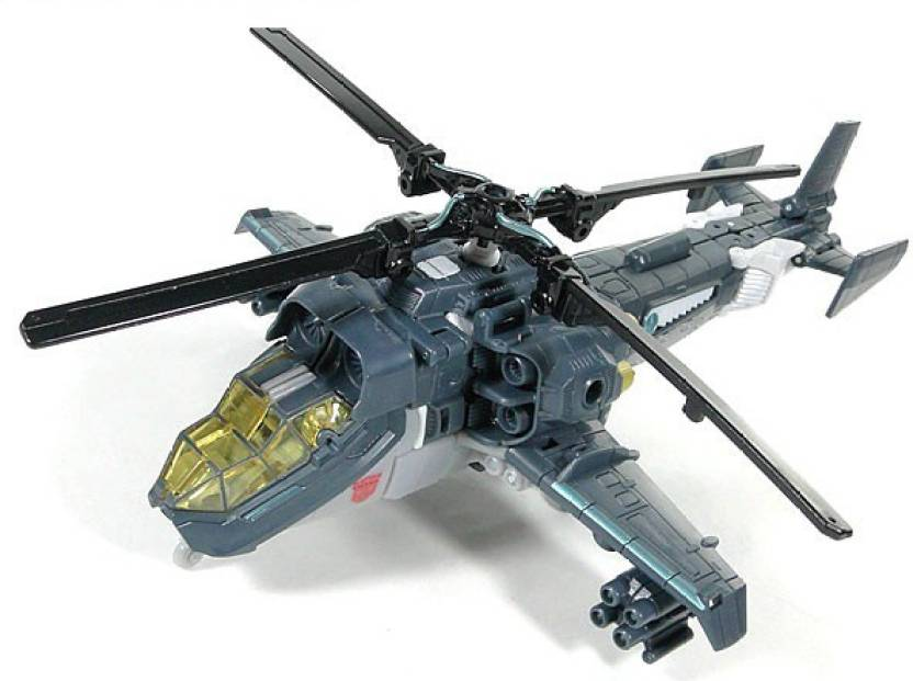 Assemble Transformers Empty Hammer Robot To Helicopter Converting