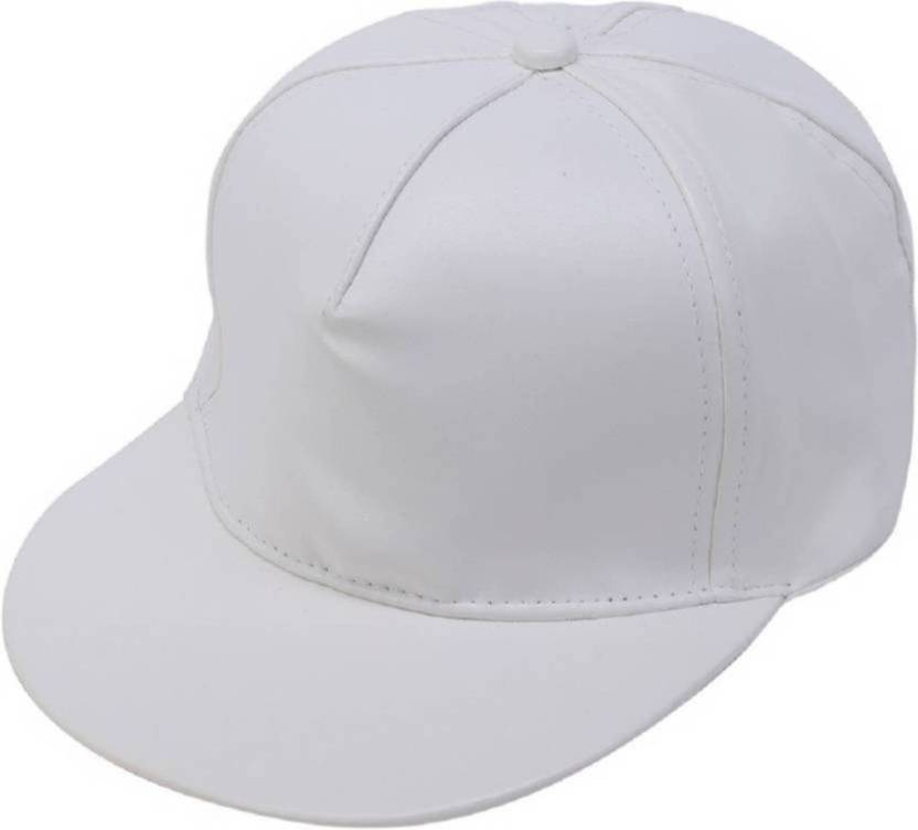 86347f23025 HOZIE Royal Look White Leather Hip Hop Snapback Cap For All Cap - Buy HOZIE  Royal Look White Leather Hip Hop Snapback Cap For All Cap Online at Best  Prices ...